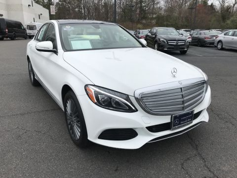 Certified Used Mercedes-Benz C-CLASS C 300W4 OFF LEASE LOTS OF OPTIONS MBCPO