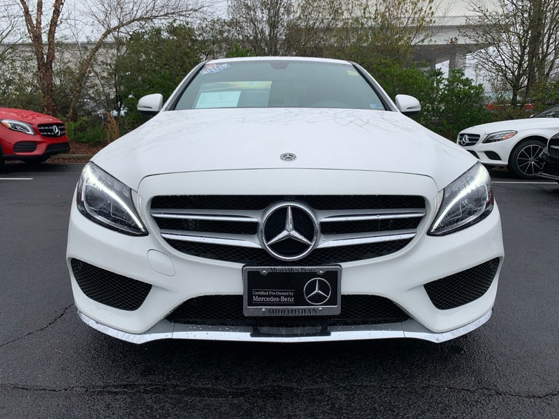 Certified Pre-Owned 2018 Mercedes-Benz C 300 Sport Rear Wheel Drive SEDAN