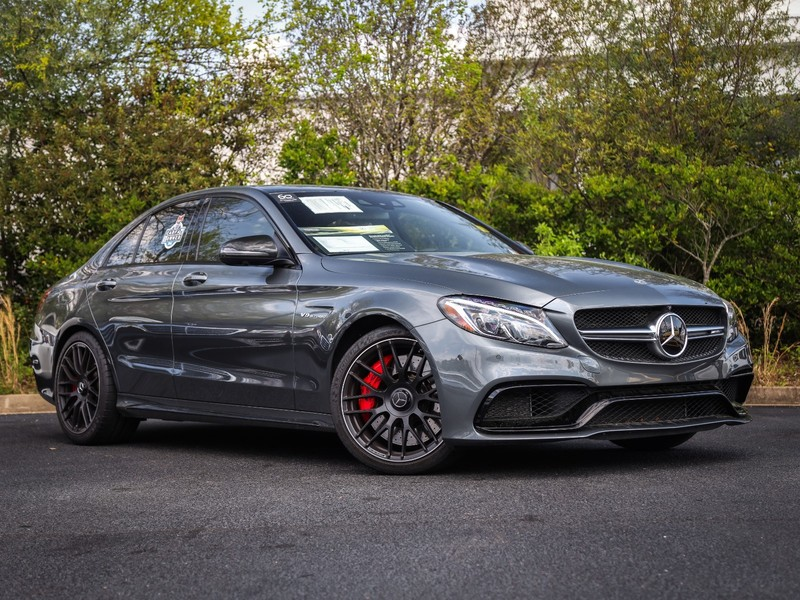 Certified Pre-Owned 2018 Mercedes-Benz C-CLASS AMG® C 63 S