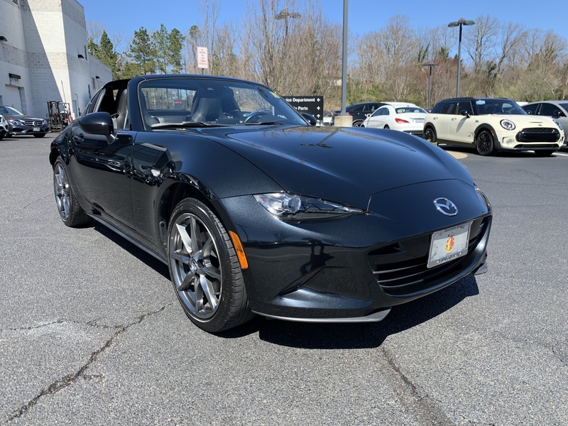 Pre Owned 2017 Mazda Mx 5 Miata Rf Grand Touring