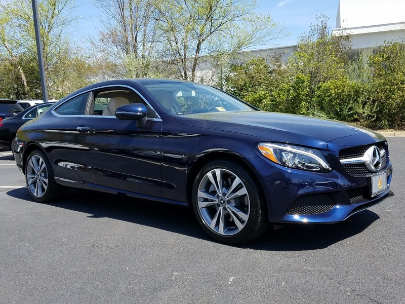 New 2017 mercedes benz c class c 300 coupe in midlothian for Mercedes benz midlothian