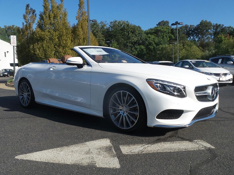 New 2017 mercedes benz s class s 550 sport cabriolet in for 2017 mercedes benz s550 lease