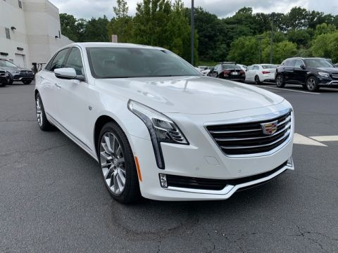 Pre-Owned 2017 CADILLAC CT6 SEDAN LUXURY AWD