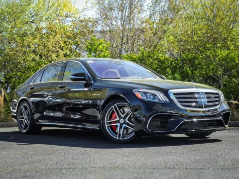 New 2020 Mercedes-Benz S-Class AMG® S 63 4MATIC® AWD