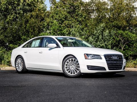Pre-Owned 2014 AUDI A8 4.0T